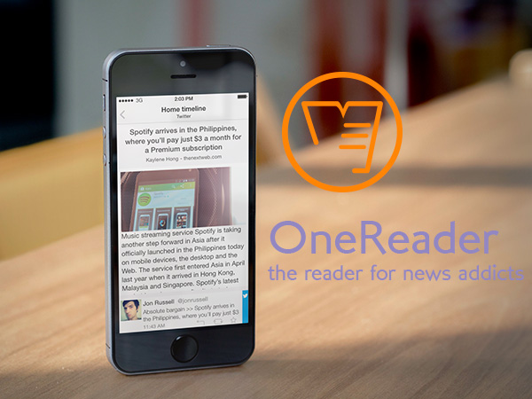 OneReader - The reader for news addicts